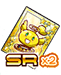 SR Gold Music Note x2